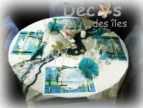 id es d corations mariage anniversaire et f tes sur la mer les les antilles. Black Bedroom Furniture Sets. Home Design Ideas