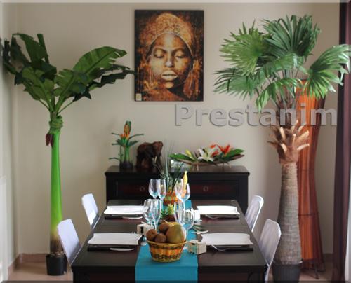 D cor turquoise pour votre table de salon organisez chez for Deco salon blanc et marron