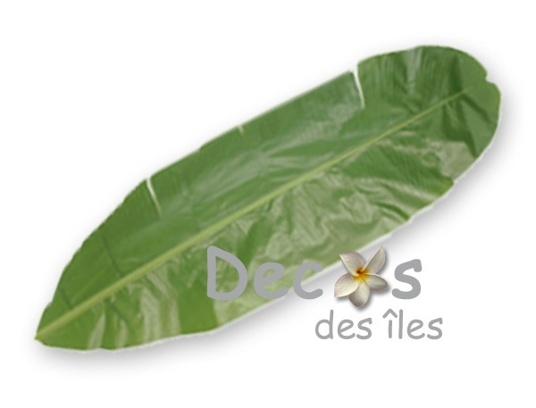 Feuille de bananier dc 0452p - Set de table feuille de palmier ...