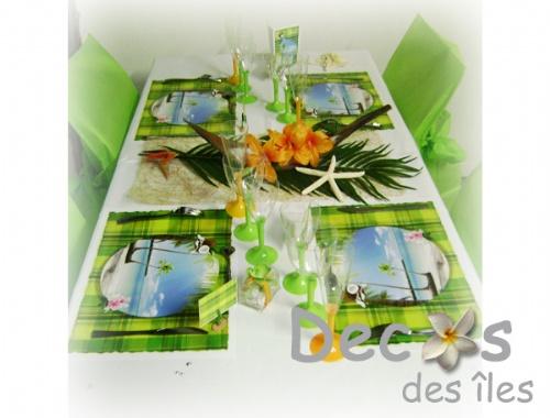 d coration madras anis blanc. Black Bedroom Furniture Sets. Home Design Ideas