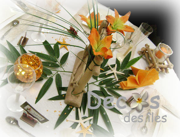 Decorations De Table De La Guyane