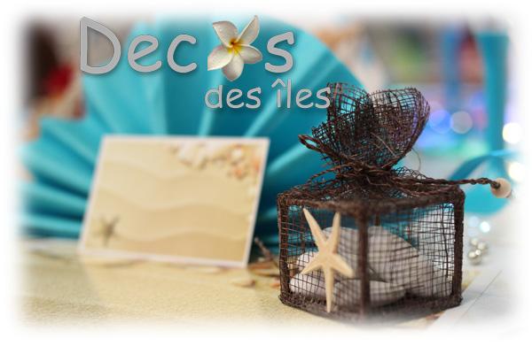 D coration table de mariage th me sable et coquillages for Sable de decoration pas cher