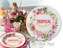 Plus d'infos sur 10 assiettes tropicales