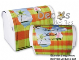Malle madras Guadeloupe j