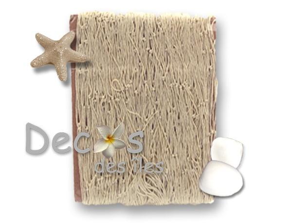 Filet de p che cru 100x200 dc 0721e - Filet peche deco ...